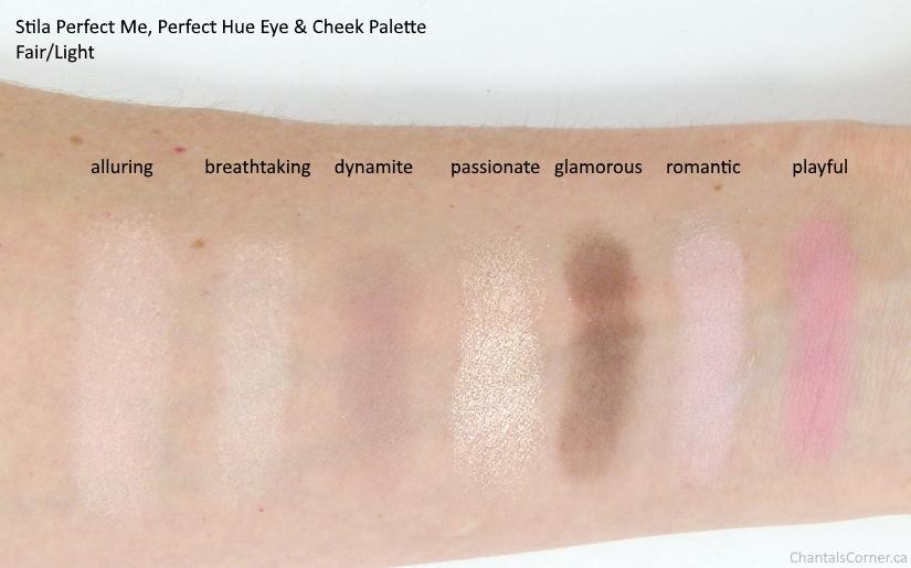 Stila Perfect Me Perfect Hue Eye & Cheek Palette in fair light