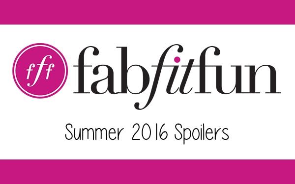 FabFitFun: Summer 2016 Spoilers