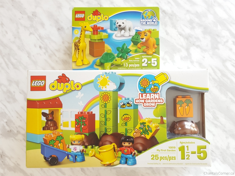 lego duplo my first garden baby animals