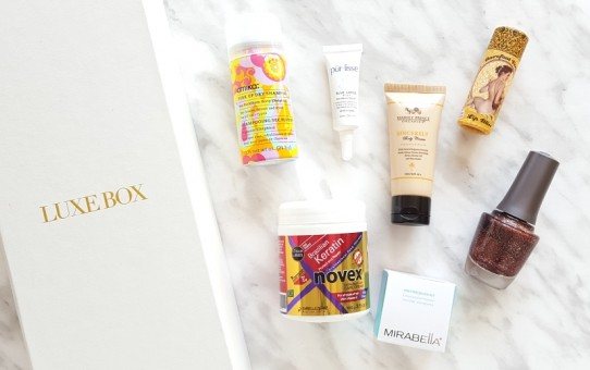 luxe box summer 2016