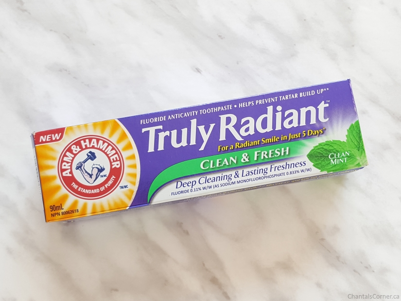 ARM & HAMMER Truly Radiant Clean & Fresh Toothpaste Review