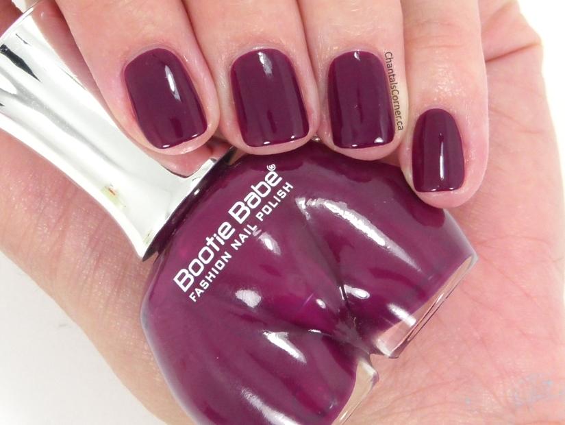 bootie babe cushy tushy nail polish