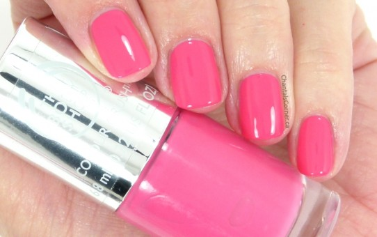 The Body Shop nail polish in Cupid Pink