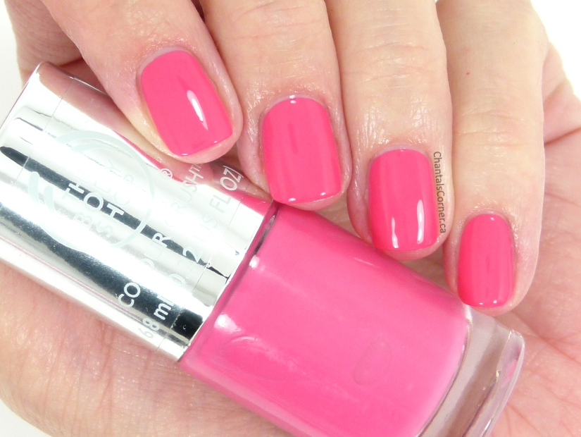 The Body Shop Nail Polish in Cupid Pink – Swatches and Review