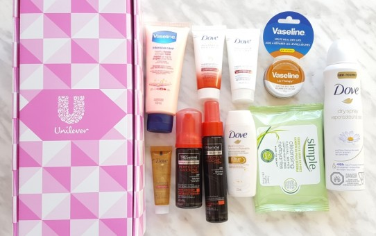 topbox unilever limited edition trends box