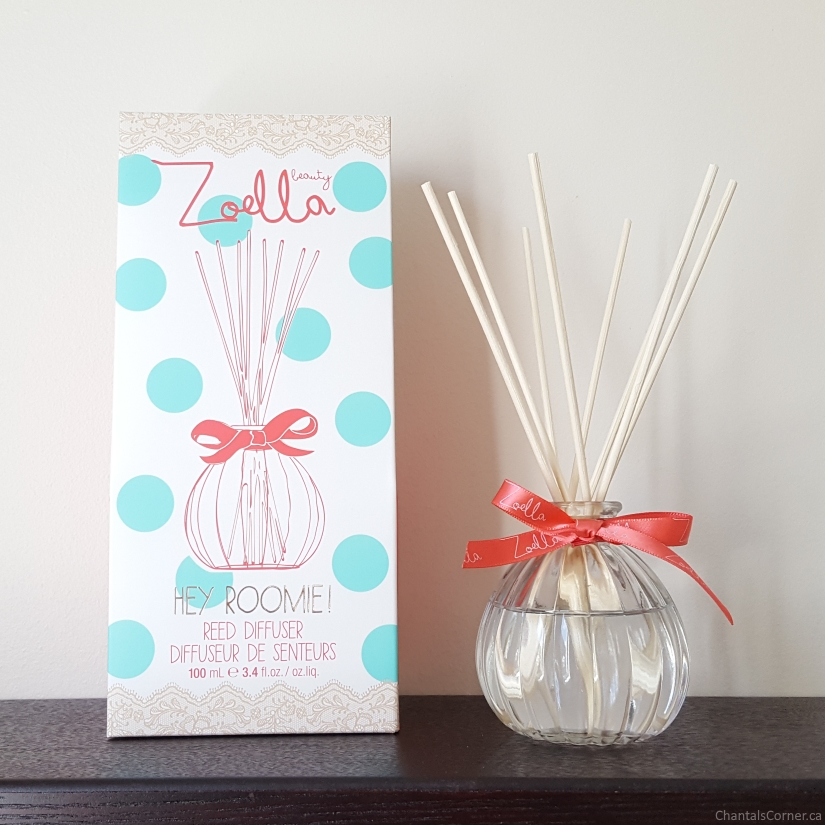 zoella beauty hey roomie reed diffuser