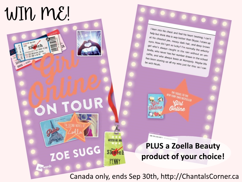 zoella beauty product and girl online on tour book giveaway canada only