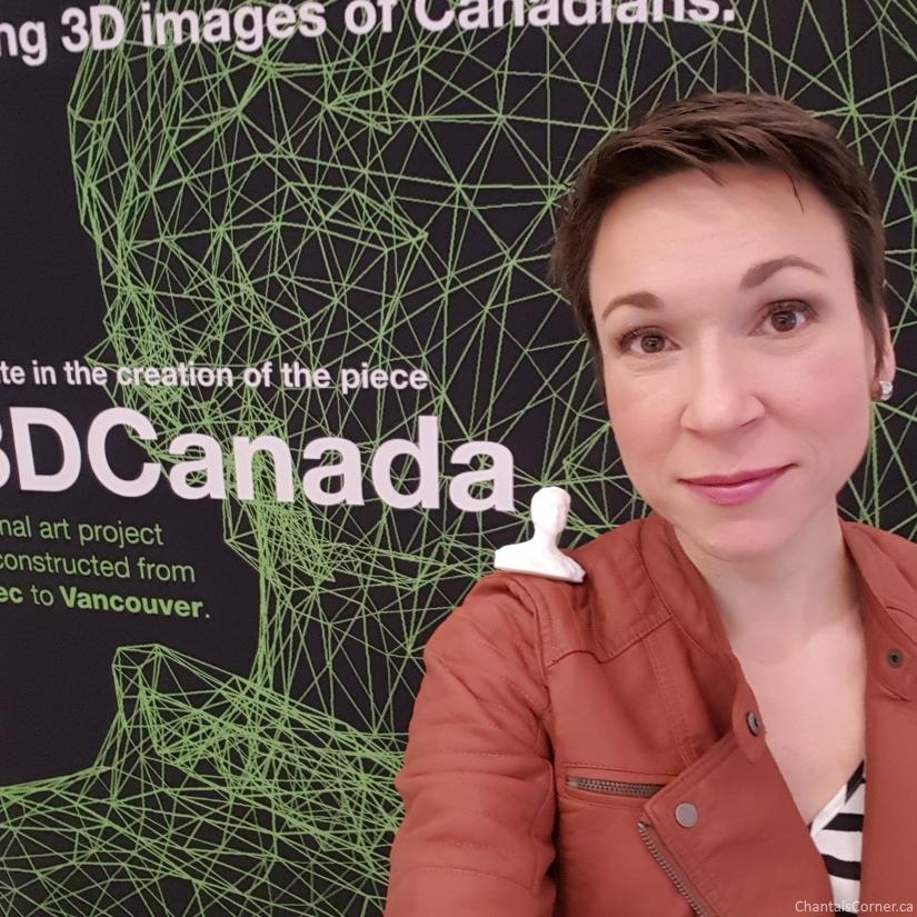 Douglas Coupland at Simons Ottawa Today for 3DCanada