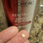 L'Oréal Paris RevitaLift Bright Reveal Brightening Dual Overnight Moisturizer