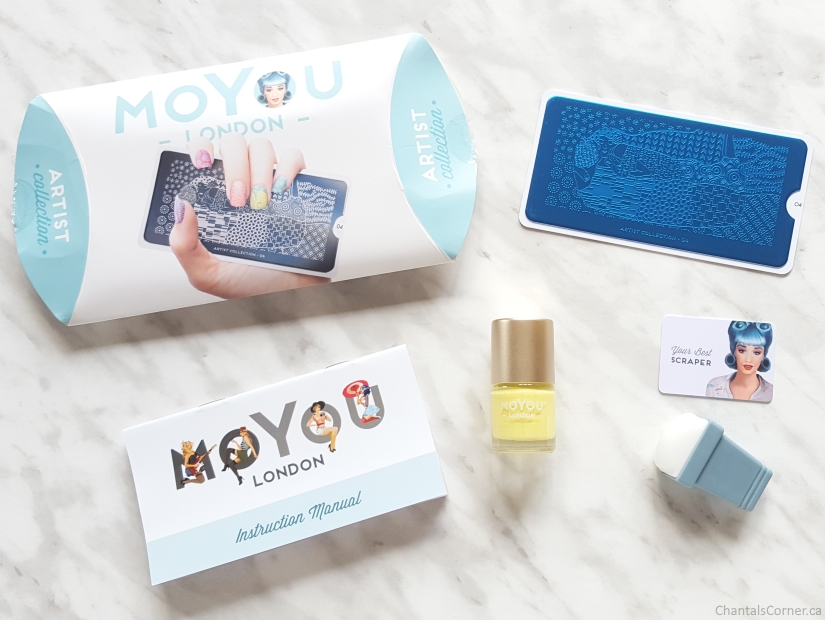 moyou london nail stamping artist starter kit