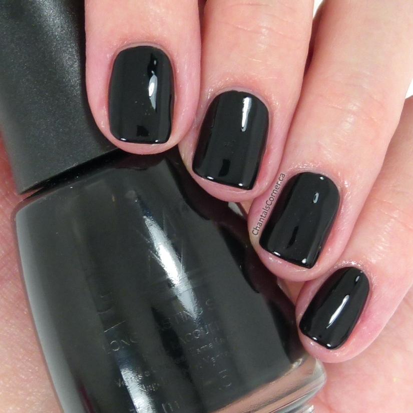 ceramic glaze nail polish little black dress