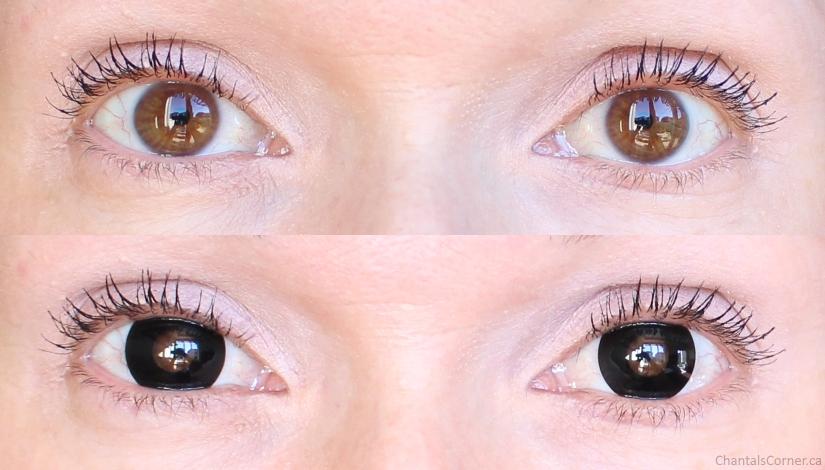 spooky eyes black contact lenses