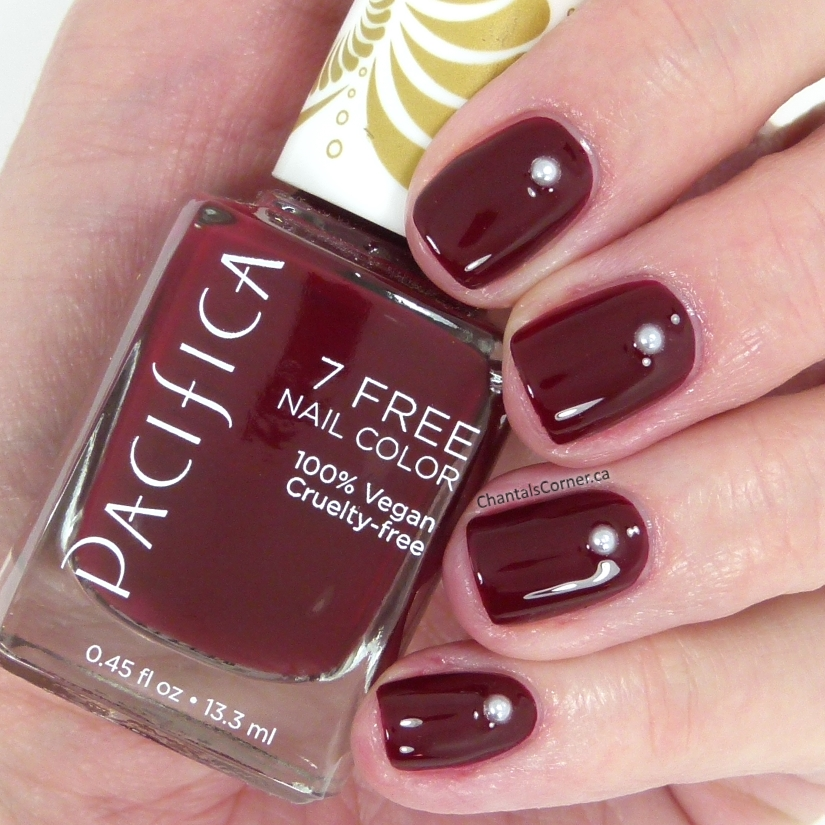 pacifica nail polish red red wine