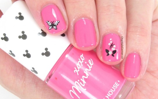 etude house nail polish xoxo minnie bubble pink