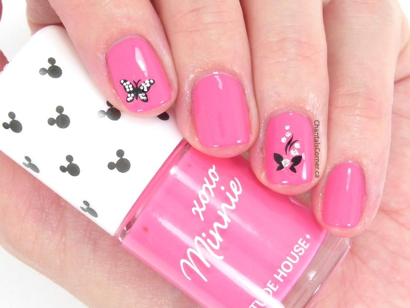 etude house nail polish xoxo minnie bubble pink