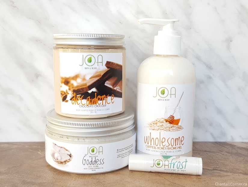 Joa Bath & Body Products Review