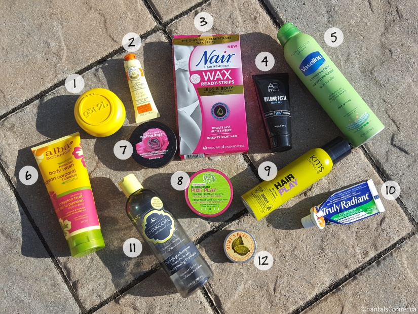 monthly empties september october 2016