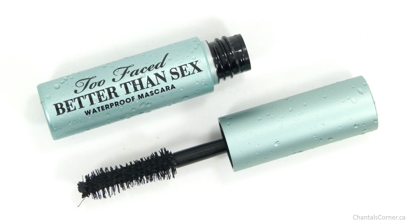too faced better than sex waterproof mascara