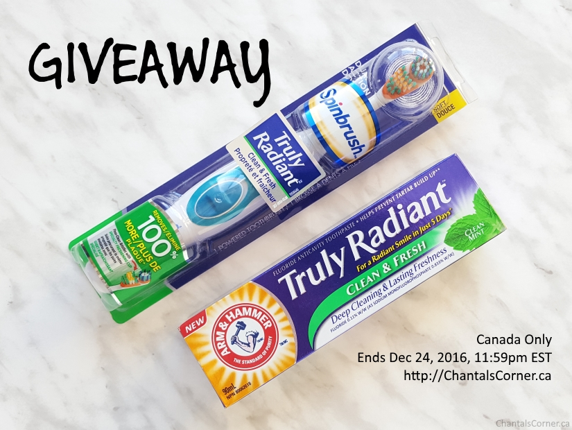 ARM & HAMMER Truly Radiant Clean & Fresh Toothpaste and Spinbrush