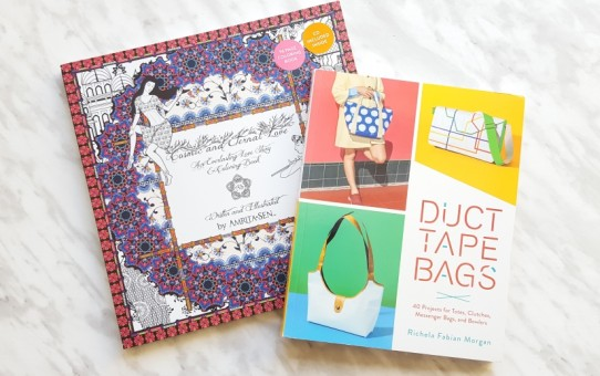 duct tape bags cosmic and eternal love coloring book