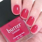butter london nail polish blowing raspberries