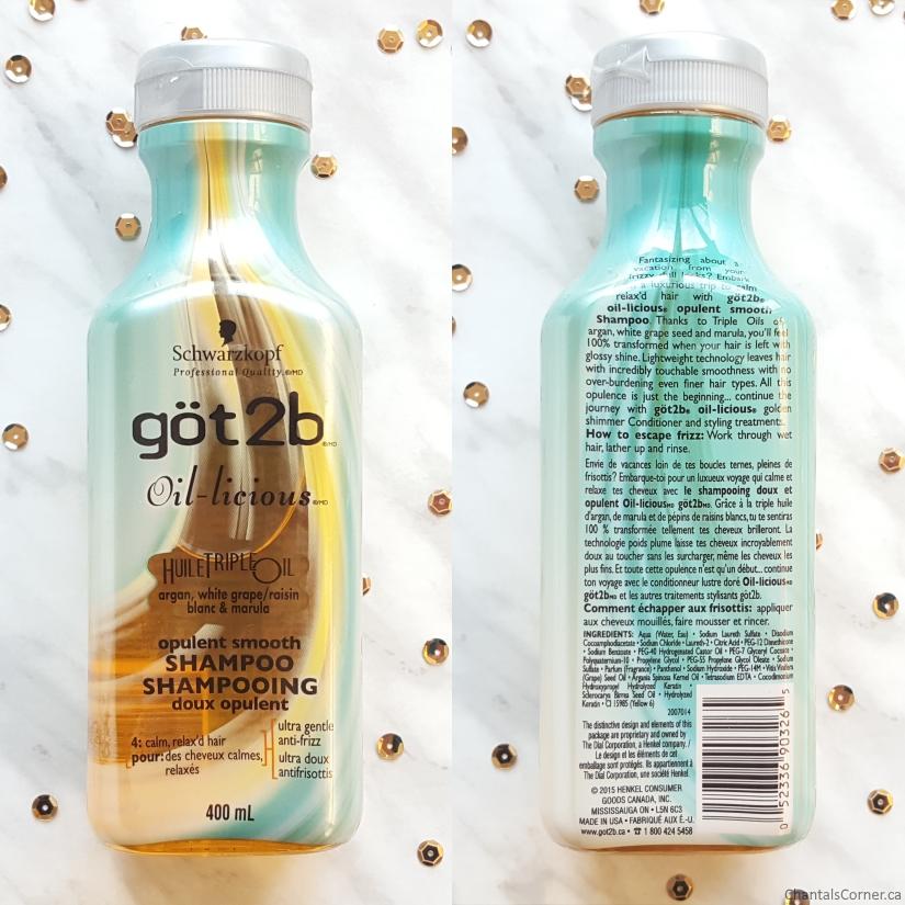 göt2b oil-licious opulent smooth Shampoo