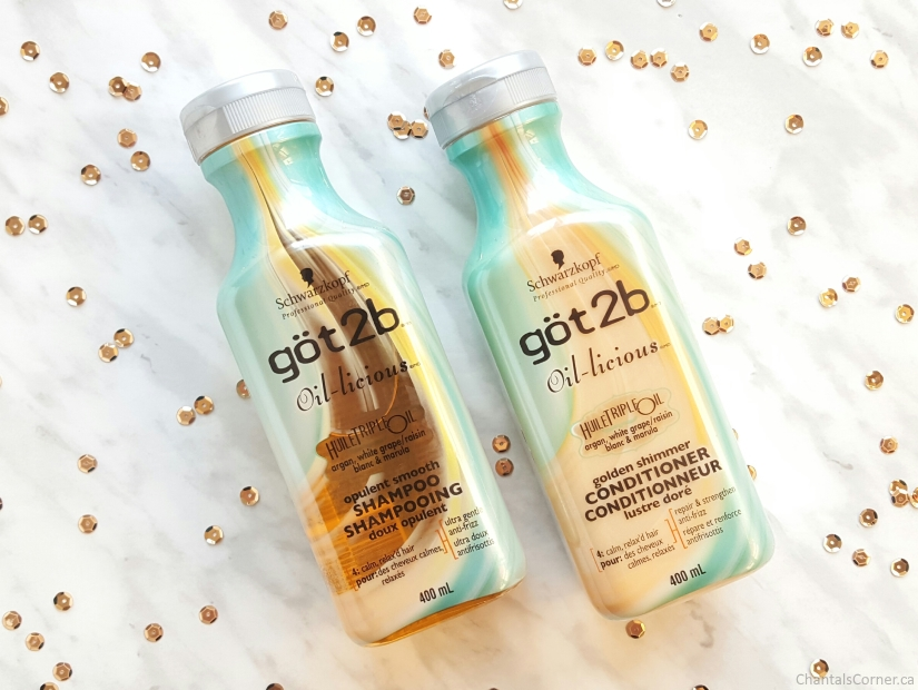 got2b oil licious shampoo conditioner