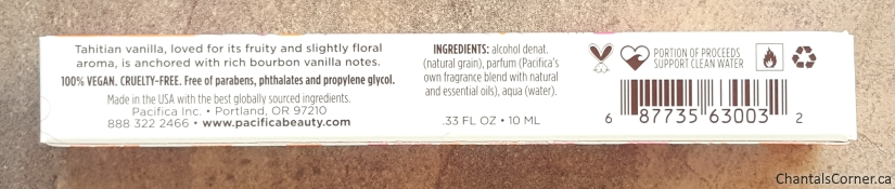Pacifica Island Vanilla Perfume Roll-On