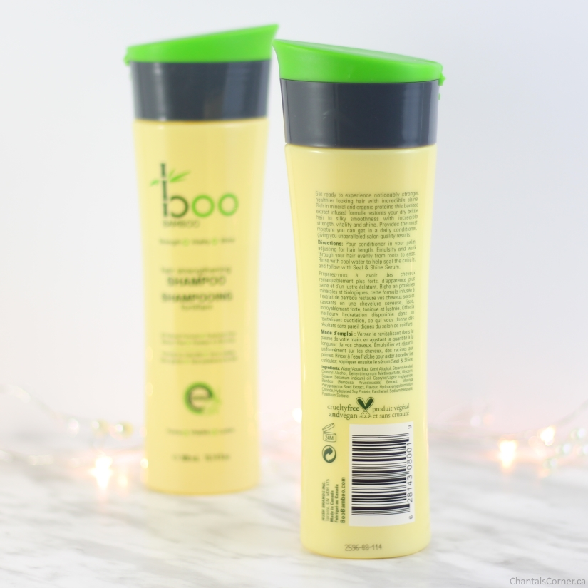 boo bamboo strengthen and shine conditioner