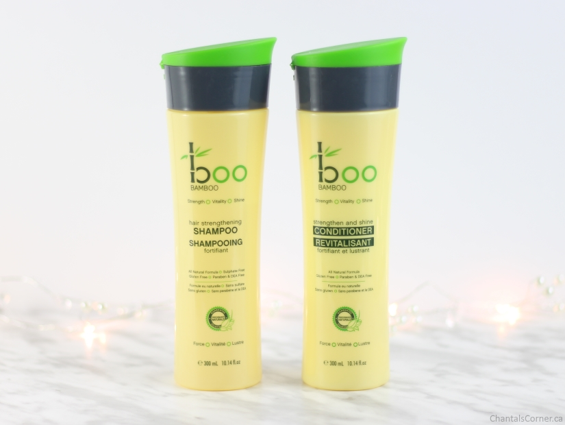 boo bamboo strenghtening shampoo strengthen and shine conditioner