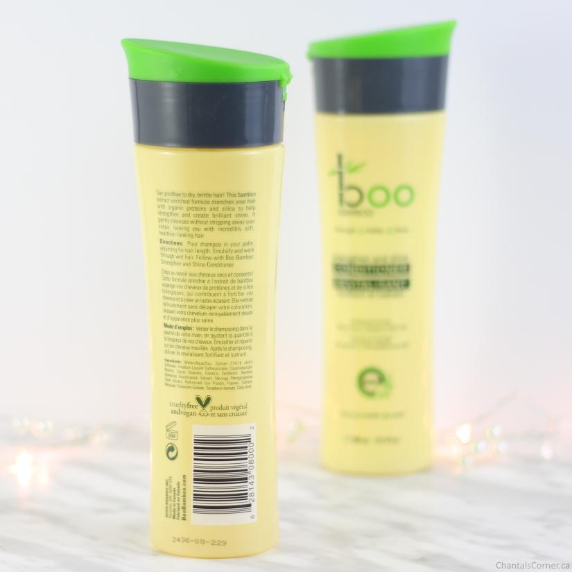boo bamboo strenghtening shampoo