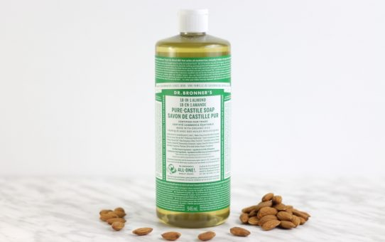 dr. bronner's pure-castile soap almond