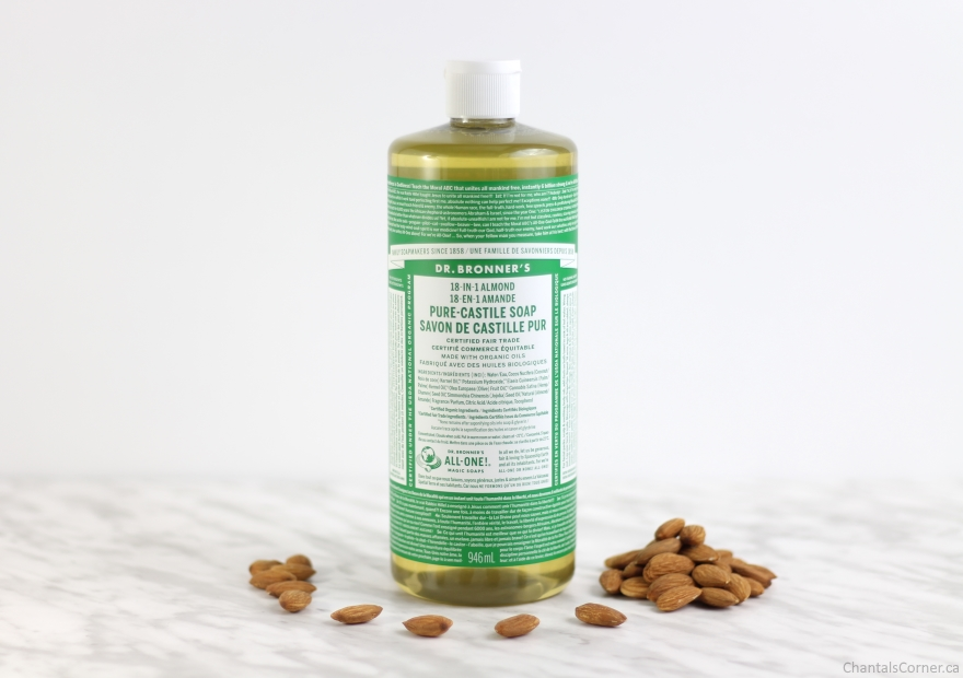 Dr. Bronner's Almond Pure-Castile Liquid Soap Review
