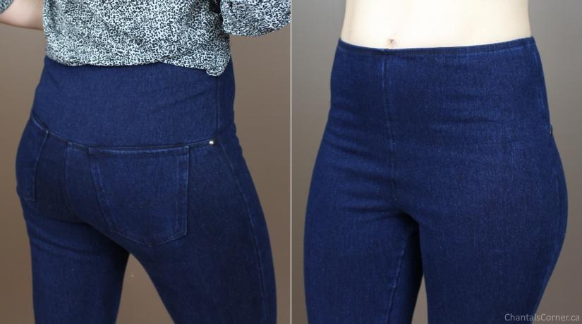 svelte skinny jeans shape wear high rise
