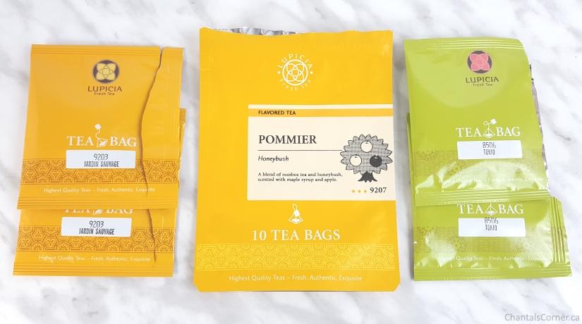 tea empties - lupicia tea
