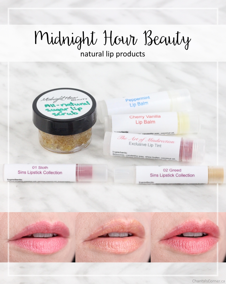 midnight hour beauty natural lip products