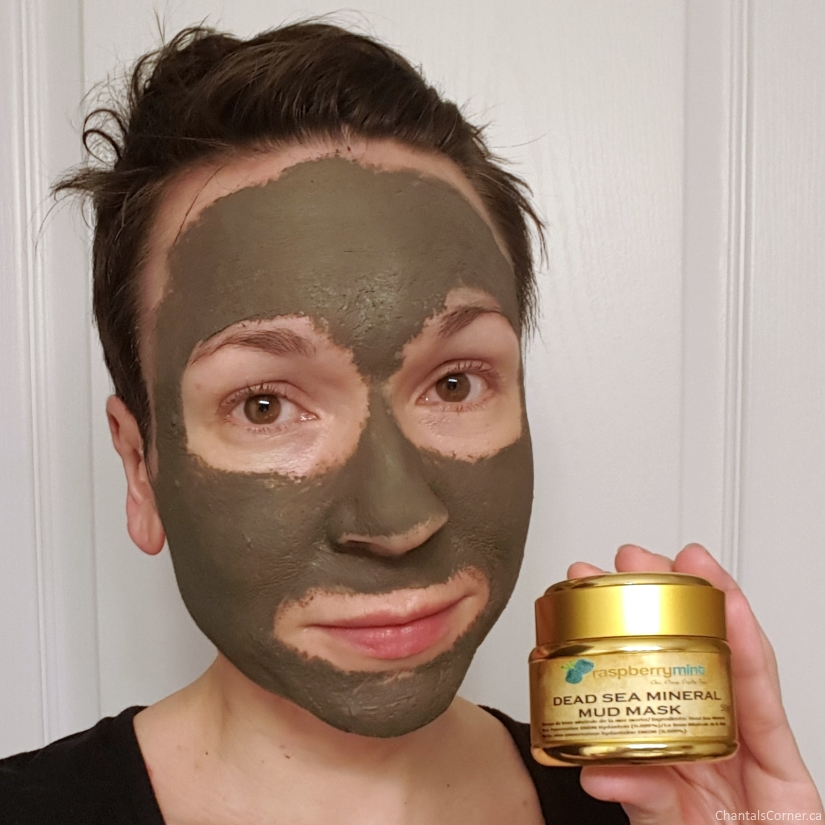 raspberrymint dead sea mineral mud mask