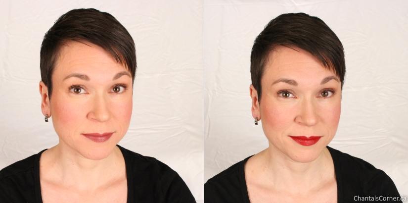 saint cosmetics lipstick star shines bright cardinal sin red