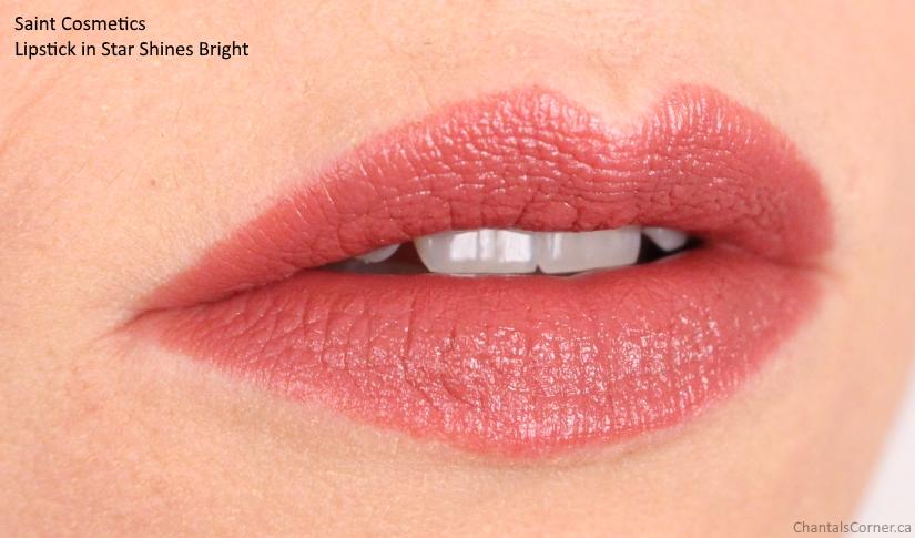 saint cosmetics lipstick star shines bright