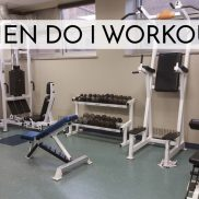 When Do I Workout?