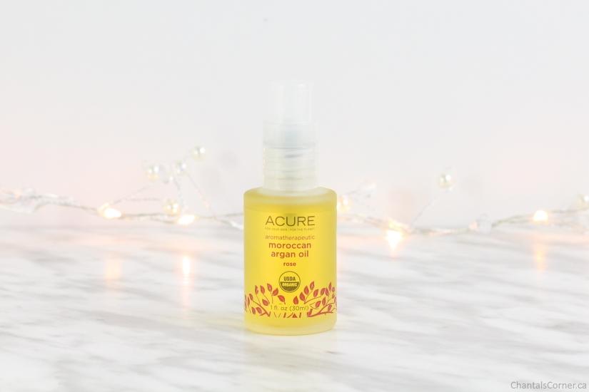 ACURE Organics aromatherapeutic moroccan argan oil rose