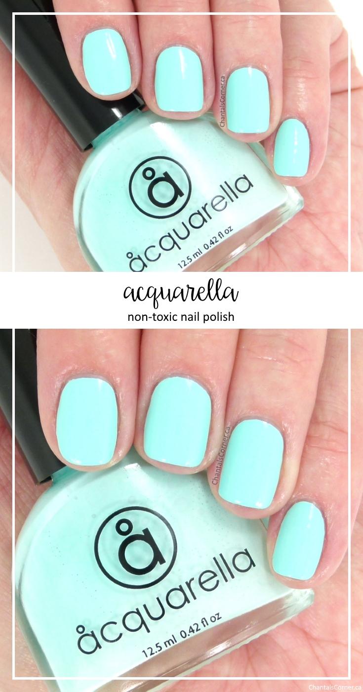 Acquarella Non-Toxic Nail Polish in Frolic