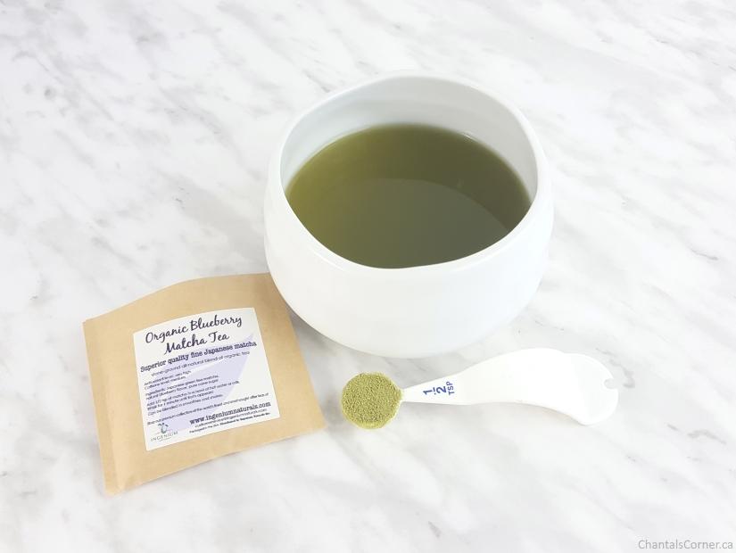 Ingenium Naturals Organic Blueberry Matcha Tea