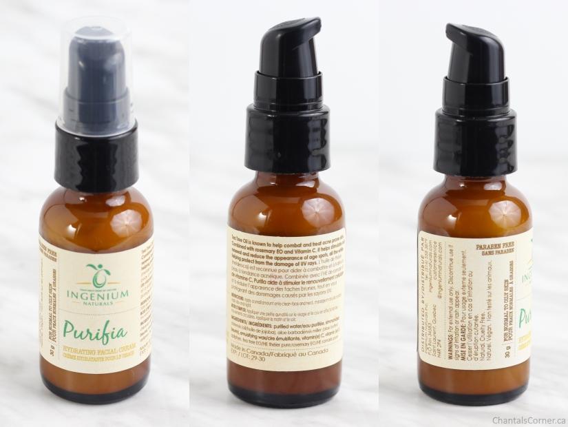Ingenium Naturals Purifia Facial Cream