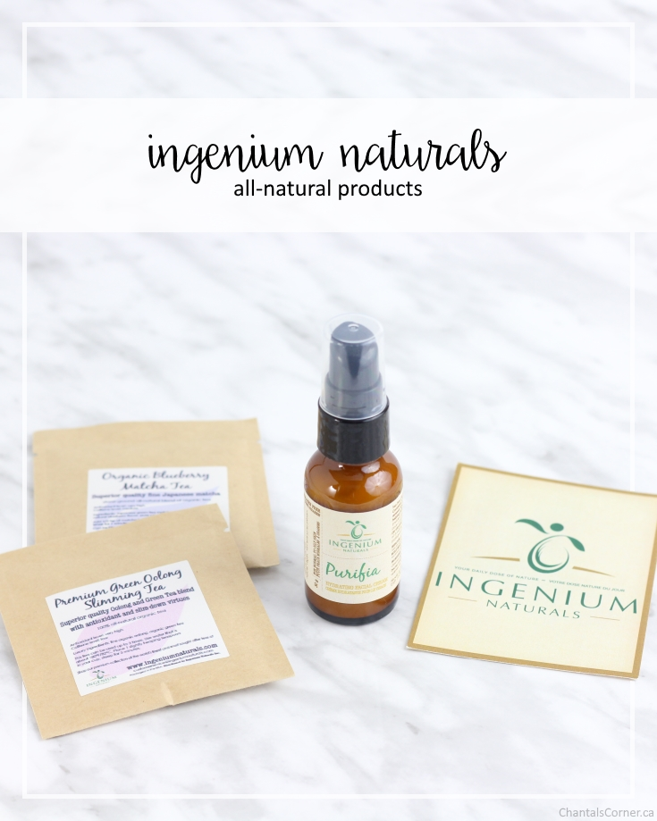 Ingenium Naturals all-natural products