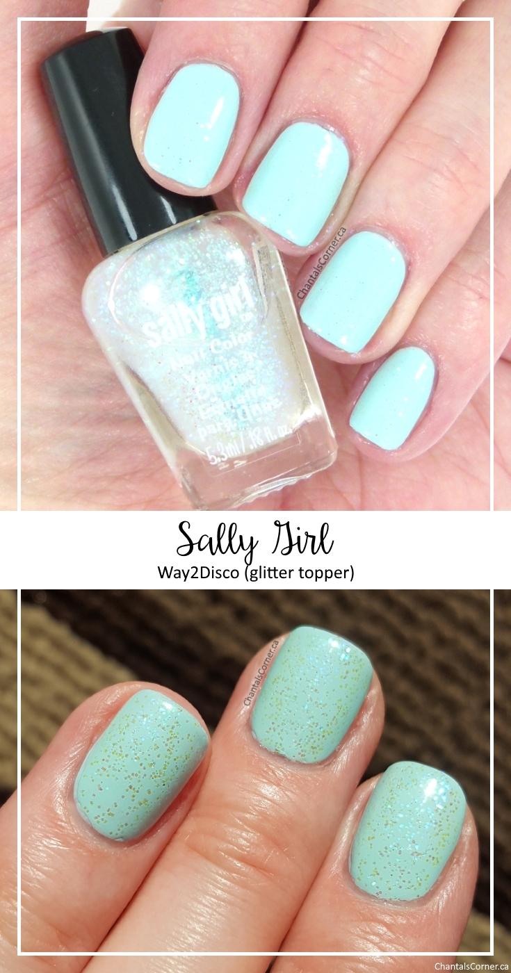 Sally Girl Way2Disco nail polish