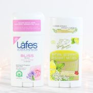 Natural Deodorants with Lafe's and The Green Beaver Company