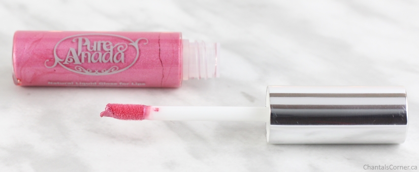 Pure Anada Natural Lip Gloss in Pink Orchid