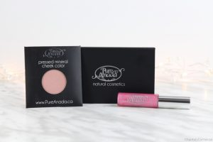 pure anada natural makeup lip gloss blush