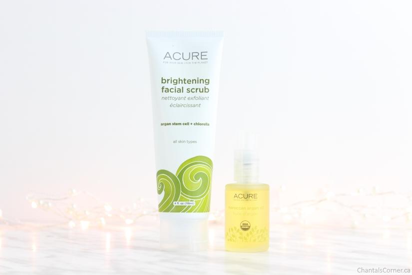 ACURE Organics Brightening Facial Scrub Moroccan Argan Oil